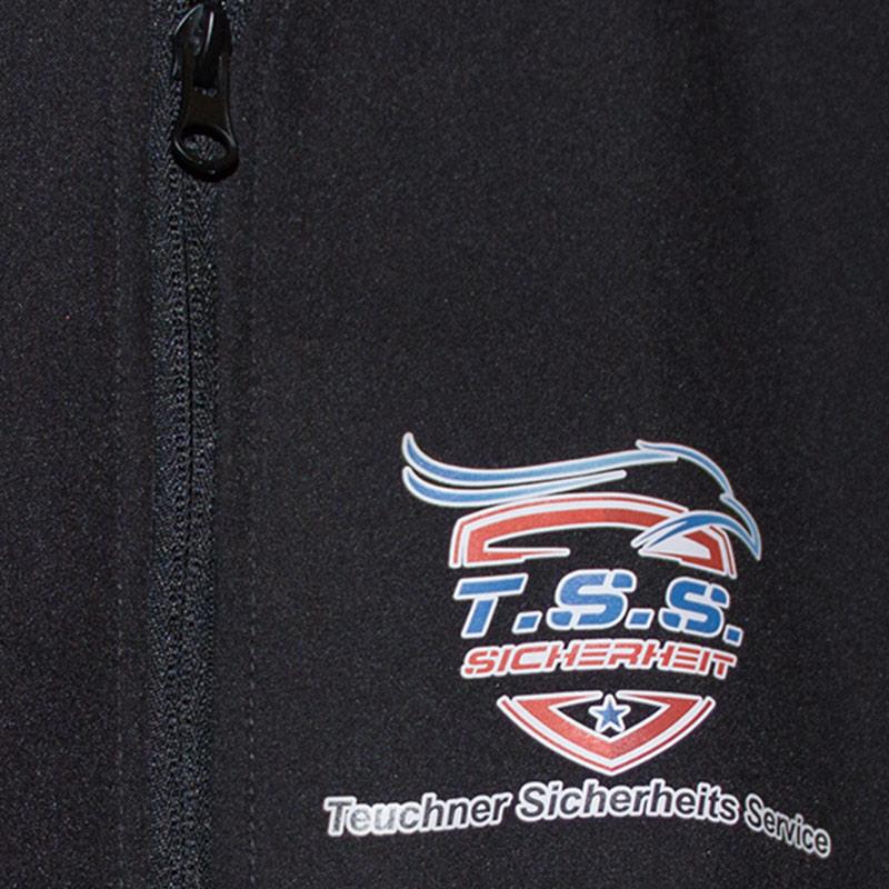 Texildruck Textilveredelung Softshelljacken bedruckt Hameln Hannover Minden Stadthagen Porta Westfalica